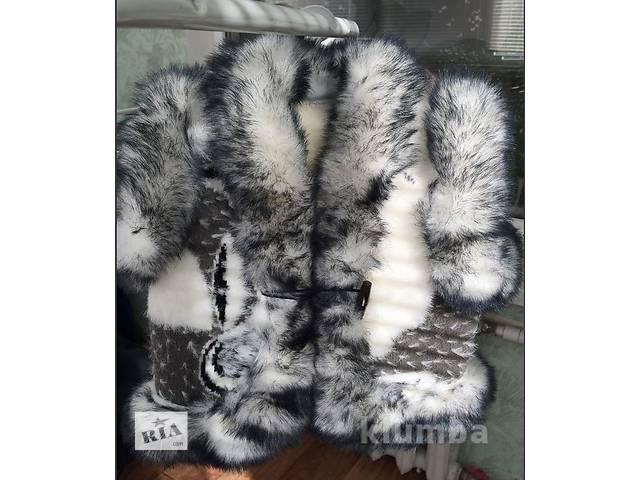 Жилет из овчины  натуралка - объявление о продаже  в Покровске (Красноармейске)