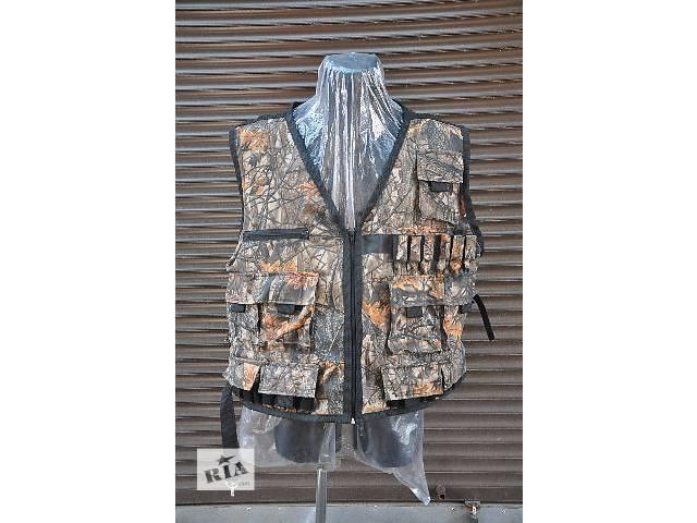 Жилеты охотничьи, разная расцветка, пошив форменной одежды- объявление о продаже  в Киеве