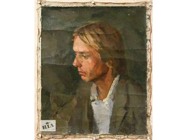 Живопись СССР портрет натурщика- объявление о продаже  в Киеве