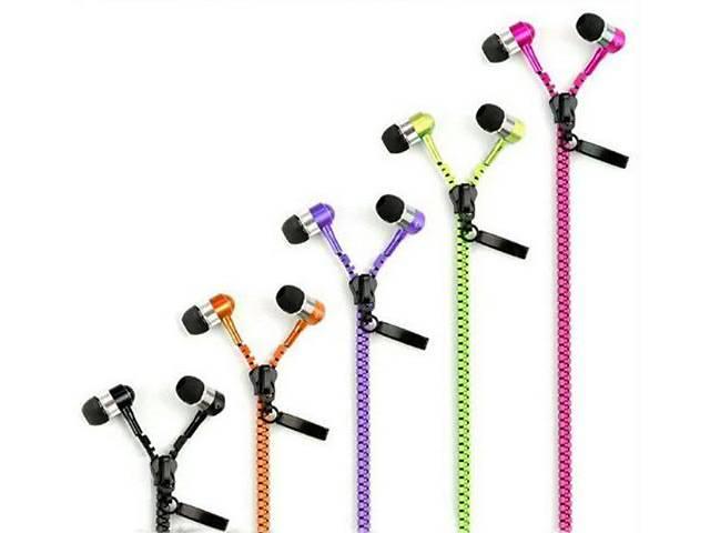 бу Zipper на молнии наушники с микрофоном молния в Запорожье