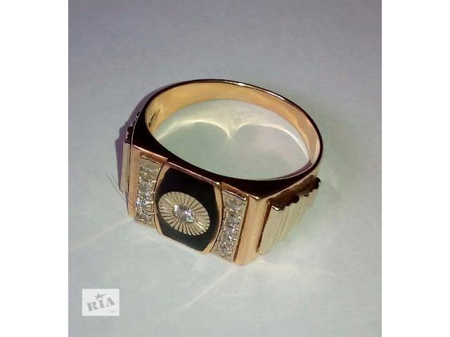 купить бу Золотой перстень для мужчины в Виннице