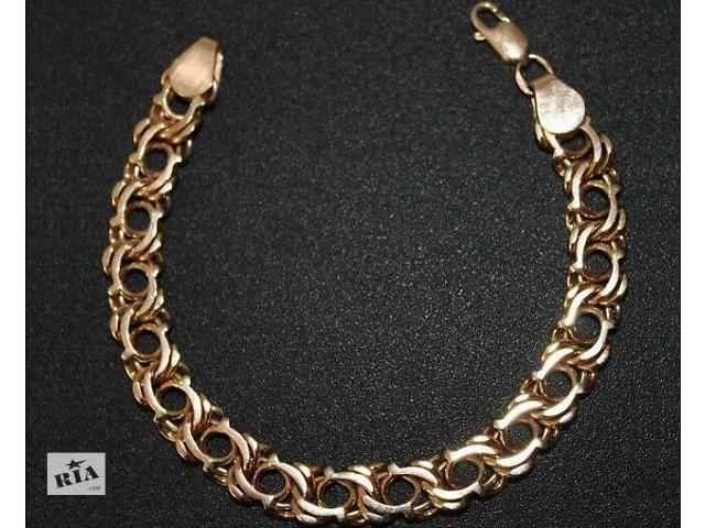 купить бу Золотий браслет Арабка 585 проби! в Львове
