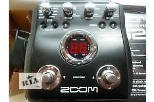 б/у Гитарные педали Zoom