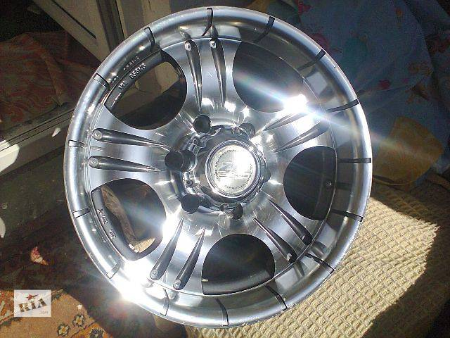 купить бу Zorat Wheels 211 R16 JJ7.0 PCD6x139.7 ET0 DIA110.5 в Жмеринке