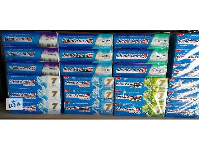 продам ОПТОМ!!!   Зубная паста Blend-a-med 100ml бу в Ужгороде