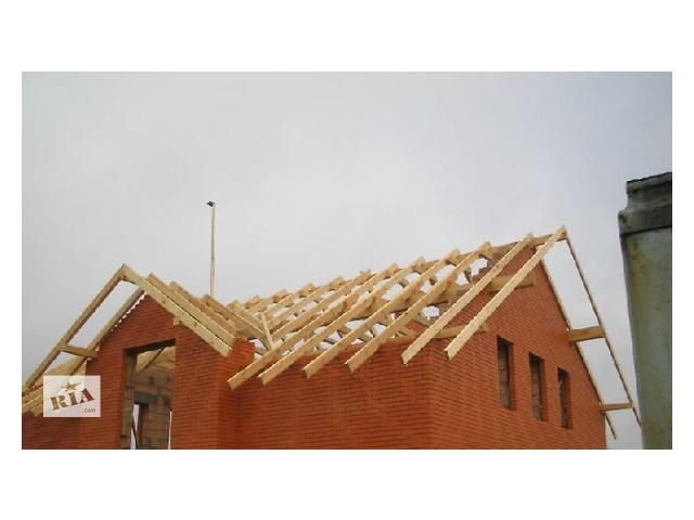 купить бу Возведение крыши,качество гарантирую,умеренные цены.  в Львове