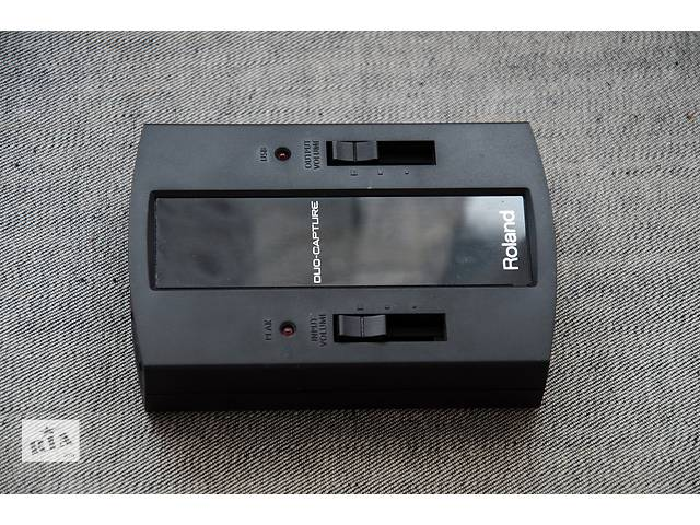 бу Звукова карта Roland Duo-Capture USB в Львове