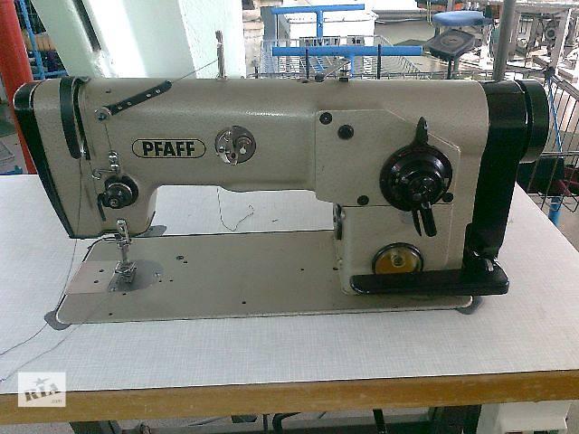 Зиг-заг швейная машина PFAFF 418 на 3-прокола- объявление о продаже  в Хмельницком