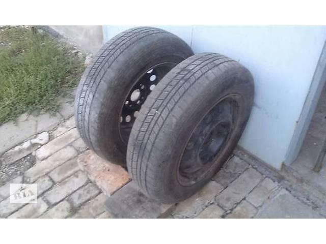 бу ЗИМА. диск с шиной для легкового авто Oпель Ланос Шевроле. в Донецке