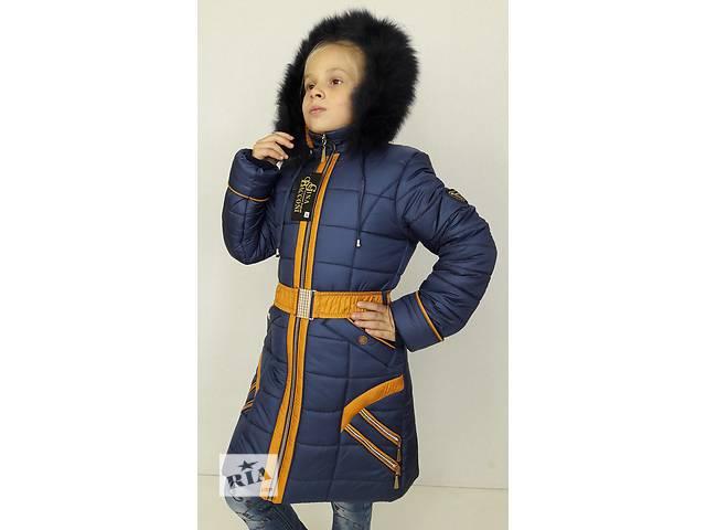 купить бу Зимнее детское пальто на девочку, р.36-42 в Одессе