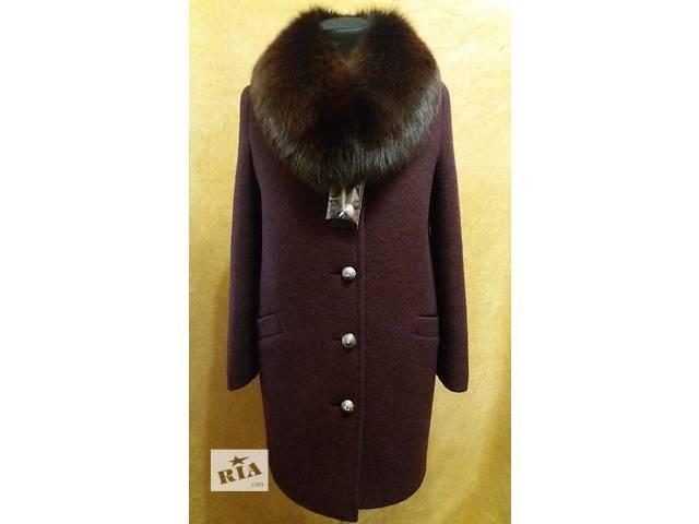 бу Зимнее пальто с натуральным мехом в Николаеве