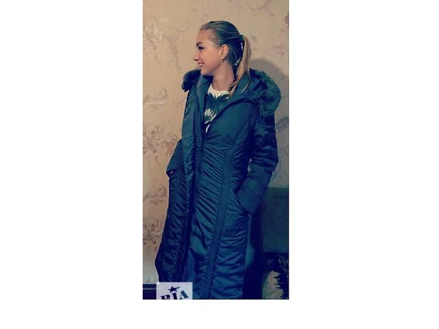 бу Зимнее новое пальто серого цвета в Киеве