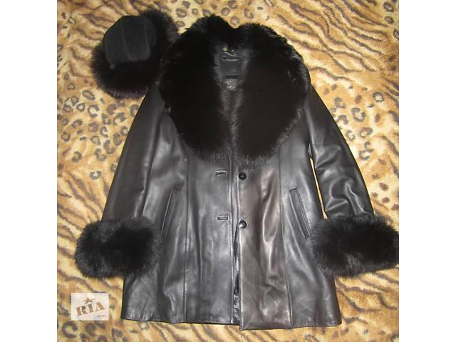 Зимнее пальто + шапка с мехом- объявление о продаже  в Киеве