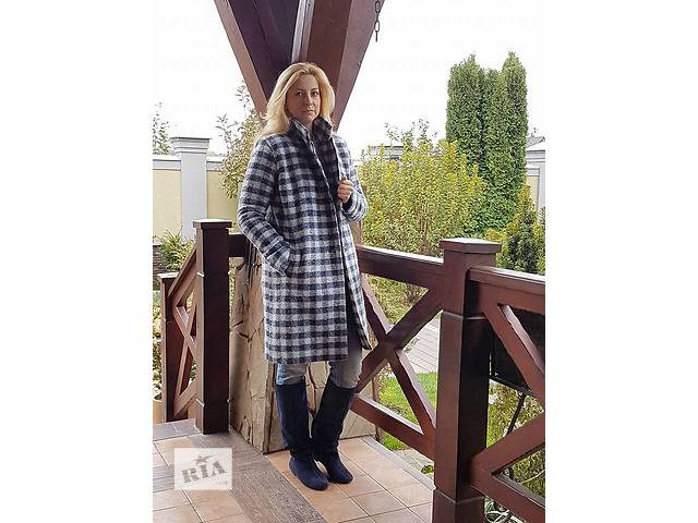 продам зимнее женское пальто зима шерсть итальянская бу в Киеве