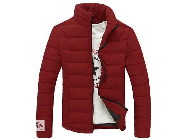 продам Зимняя бордовая дутая куртка бу в Черкассах