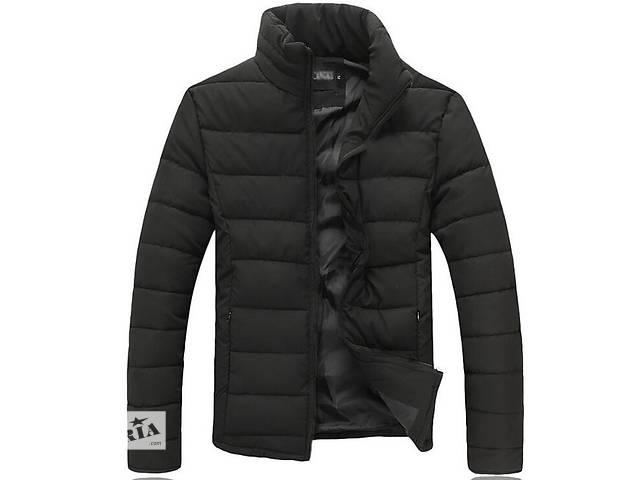 купить бу Зимняя черная дутая куртка в Черкассах