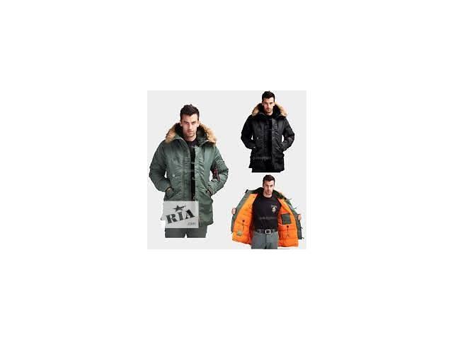 Зимняя куртка Аляска Slim fit N-3B Alpha industries™ USA Слим Фит Альфа Индастриз- объявление о продаже  в Киеве