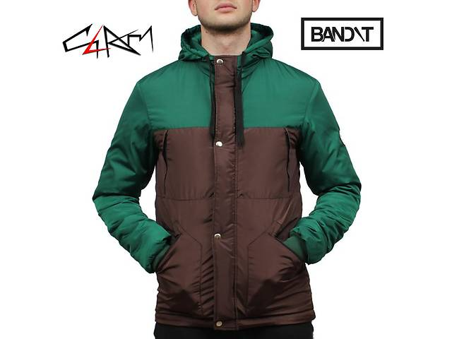 Зимняя куртка Bandit Smart Brown-Green- объявление о продаже  в Одессе