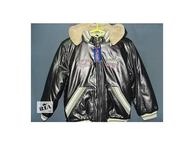 продам Зимняя куртка мал.черная Szwadron Польша,Dadak бу в Киеве