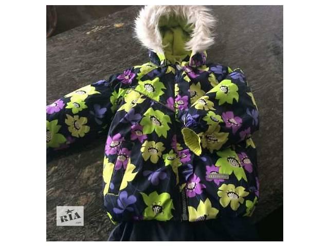 продам Зимняя куртка на девочку 3-4 лет бу в Белой Церкви (Киевской обл.)