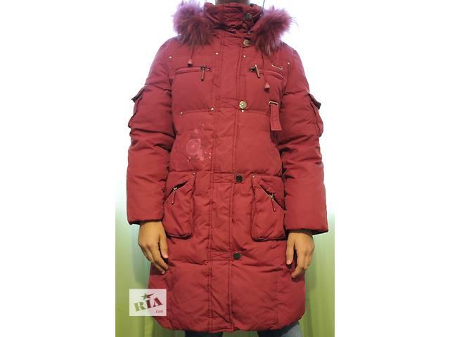 Зимняя куртка (пальто) р.140- объявление о продаже  в Киеве