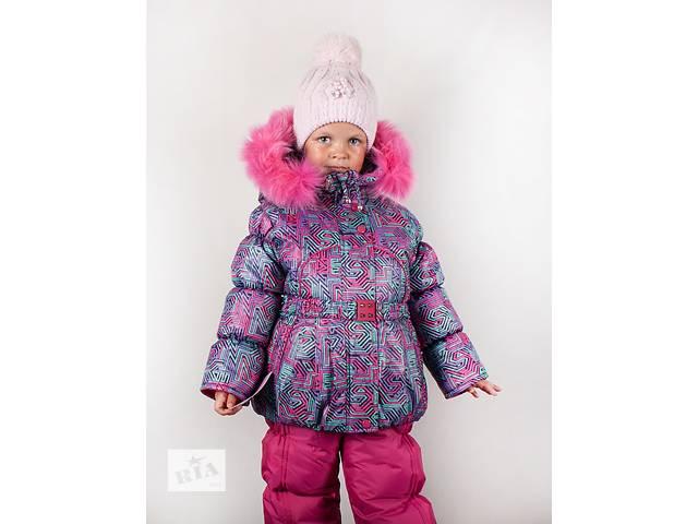 купить бу Зимняя курточка и полукомбинезон на девочек 1-5лет в Харькове