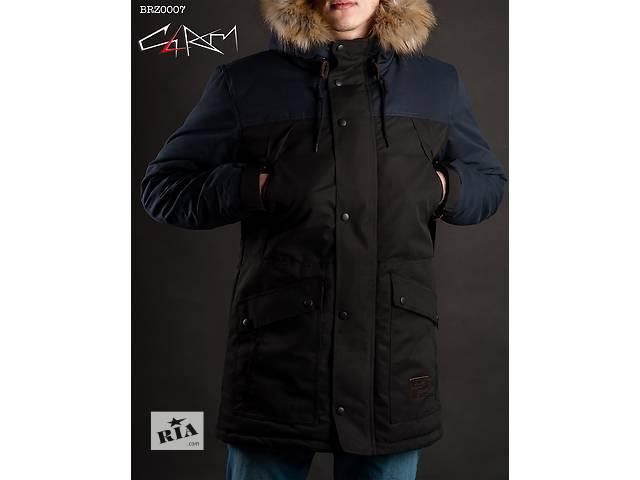купить бу Зимняя парка Staff Mount dark blue and black в Одессе