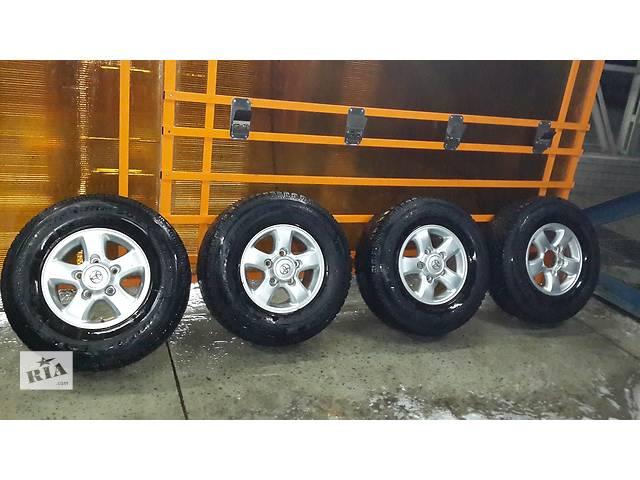 купить бу Зимняя резина c дисками Toyota Land Cruiser Good Year R16 в Харькове