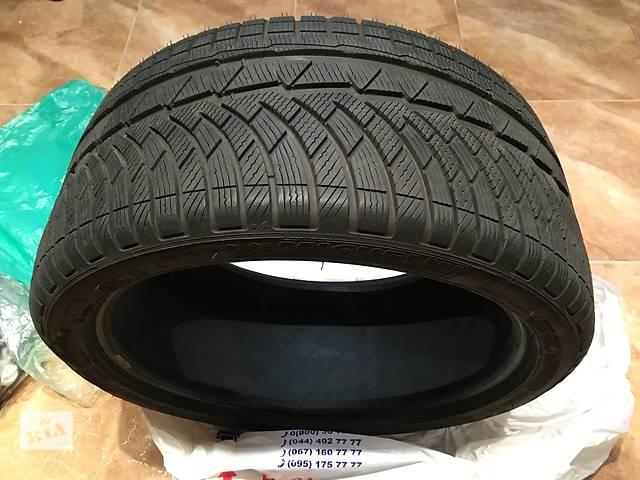 купить бу Зимняя резина Michelin Pilot Alpin PA4 R18 разноширокая (на диски BMW M 135) 2016 г. как новая в Киеве