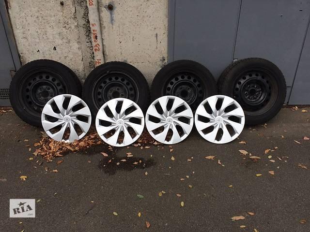 Зимняя резина с дисками и колпаками для автомобилей Тойота- объявление о продаже  в Киеве