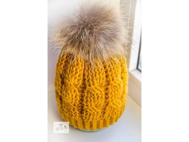 купить бу Зимняя шапка. Handmade в Киеве