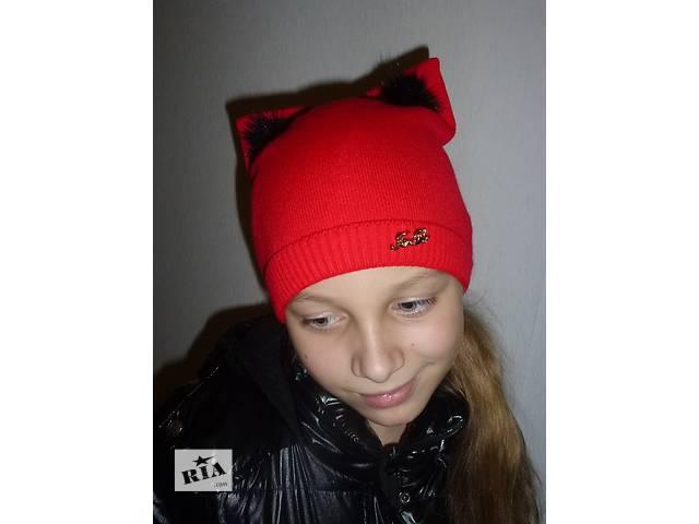 купить бу  Зимняя шапка с ушками, котошапка, cathat, разные цвета  в Харькове