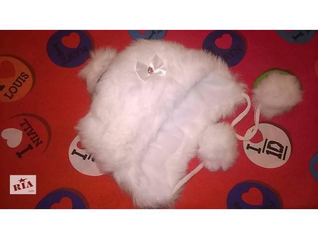 Зимняя шапочка на девочку опт цена- объявление о продаже  в Бердичеве