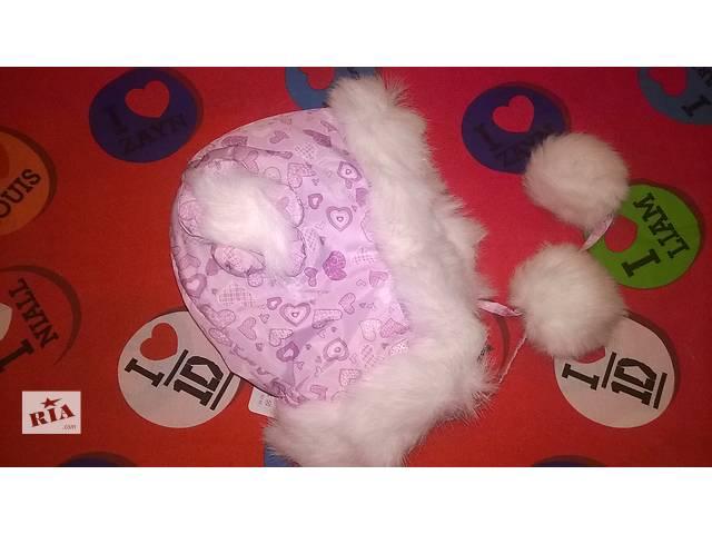 купить бу Зимняя шапочка на девочку опт цена в Бердичеве