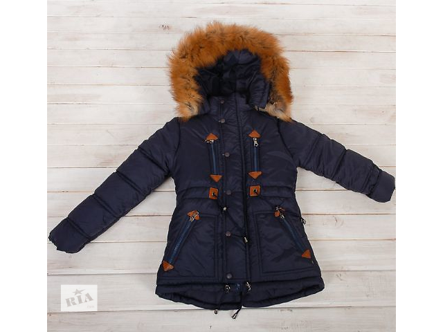 купить бу Зимняя удлиненная куртка-парка на мальчика 8-12 лет в Харькове