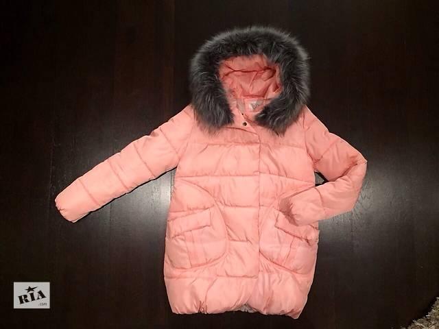 купить бу Зимняя удлинённая куртка в Ровно
