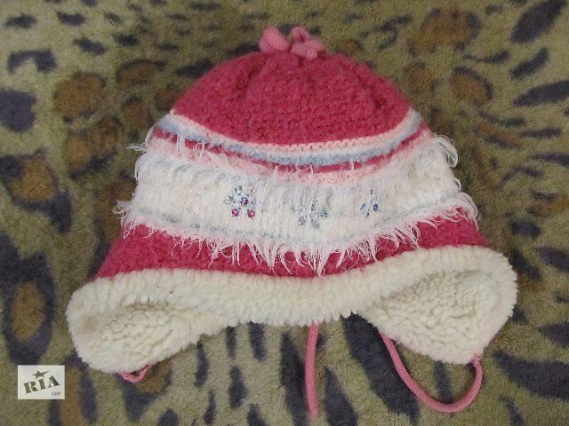 купить бу Зимняя шапка на девочку 5-6 лет в Дружковке
