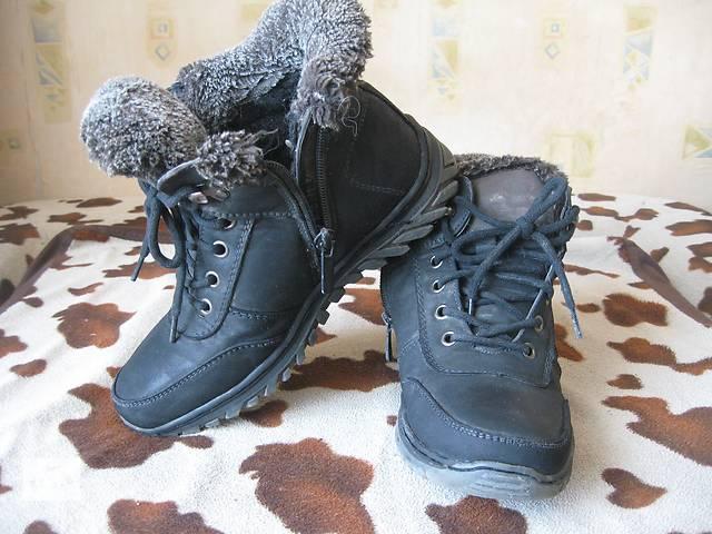 продам Зимние ботинки для мальчика. бу в Кривом Роге (Днепропетровской обл.)