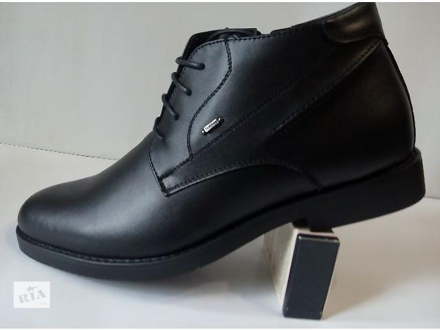 Мужские зимние  ботинки классика- объявление о продаже  в Кривом Роге