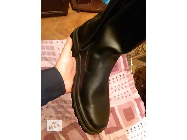 бу Зимние ботинки натуральная кожа, 42р. в Харькове