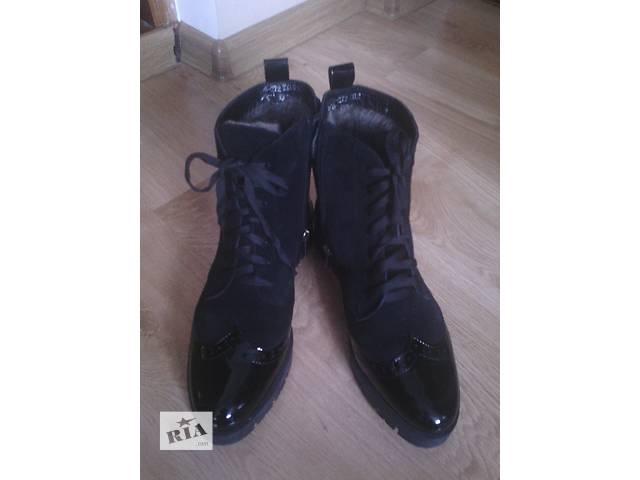 """Зимние ботинки """"Оксфорды""""- объявление о продаже  в Виннице"""