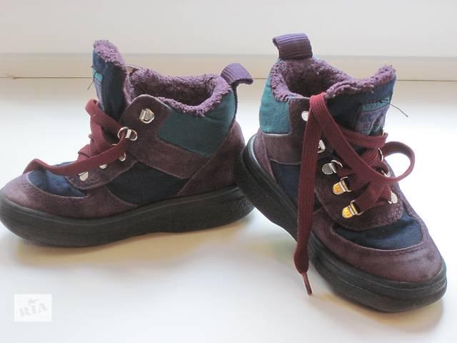 купить бу Зимние ботинки ( производство Португалия)  в отличном состоянии в Донецке