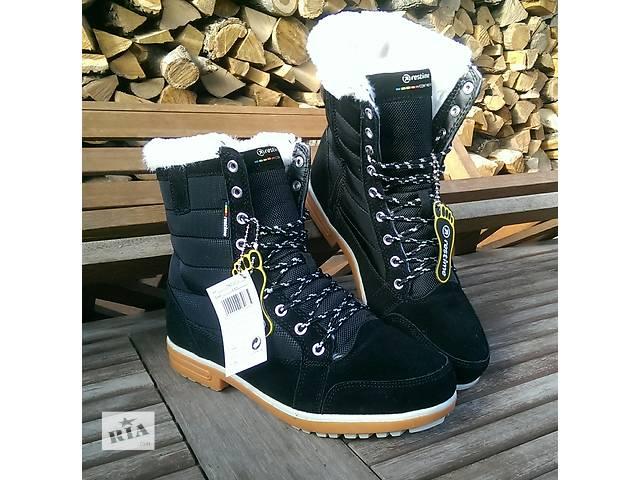 бу Зимние ботинки Restime, натуральная замша в Киеве