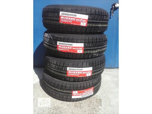 продам Зимние шины Bridgestone REVO GZ 205/60 R16 - новые, 216 год. Япония! бу в Киеве