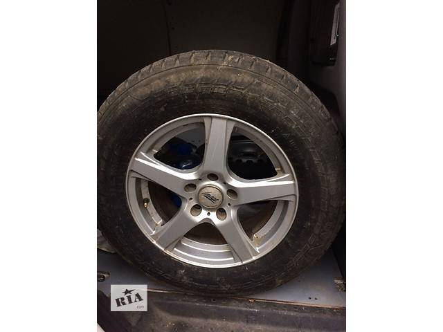 купить бу Зимние шины на дисках для Toyota Rav 4 и других кроссоверов в Тростянце (Винницкой обл.)