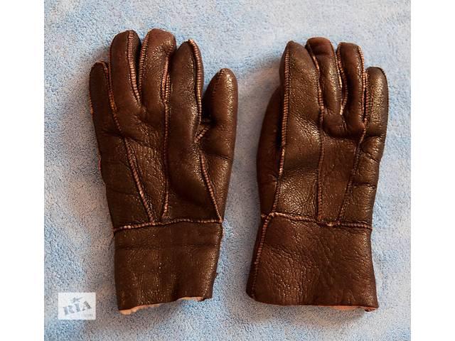 бу Зимние женские перчатки из натурального меха в Киеве