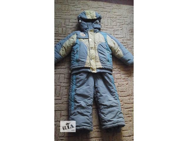 продам Зимний комплект-комбинезон на мальчика бу в Виннице