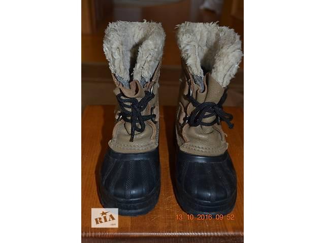 зимние напівпрорезинові сапожки для мальчика- объявление о продаже  в Хусте