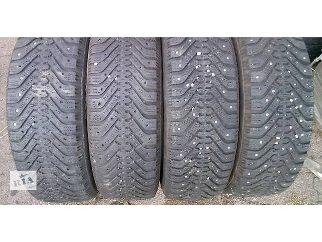 купить бу Зимние шины комплект R14 175/65, Goodyear Ultra Grip 500 M+S в Львове