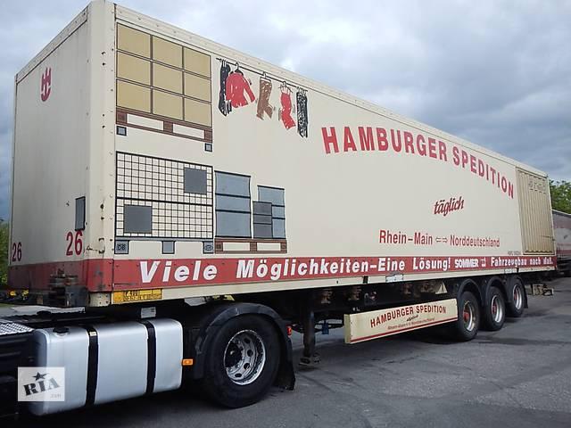 бу Съемный фургон-контейнер для полуприцепа в Хусте